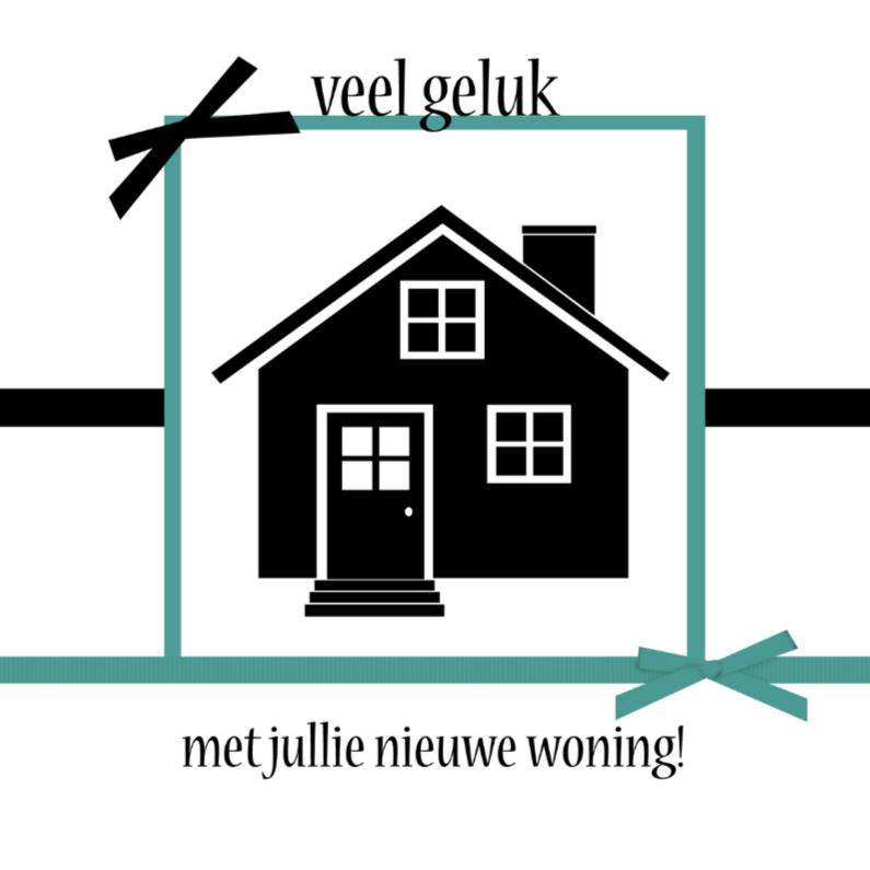 Felicitatiekaarten - veel geluk nieuwe woning