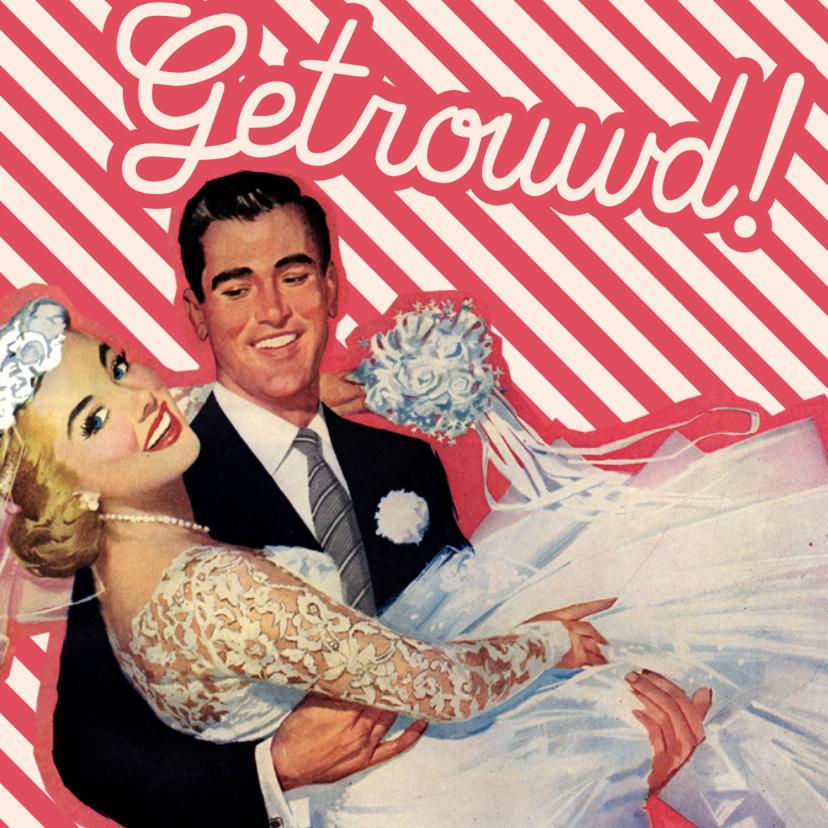 Felicitatiekaarten - Vintage getrouwd