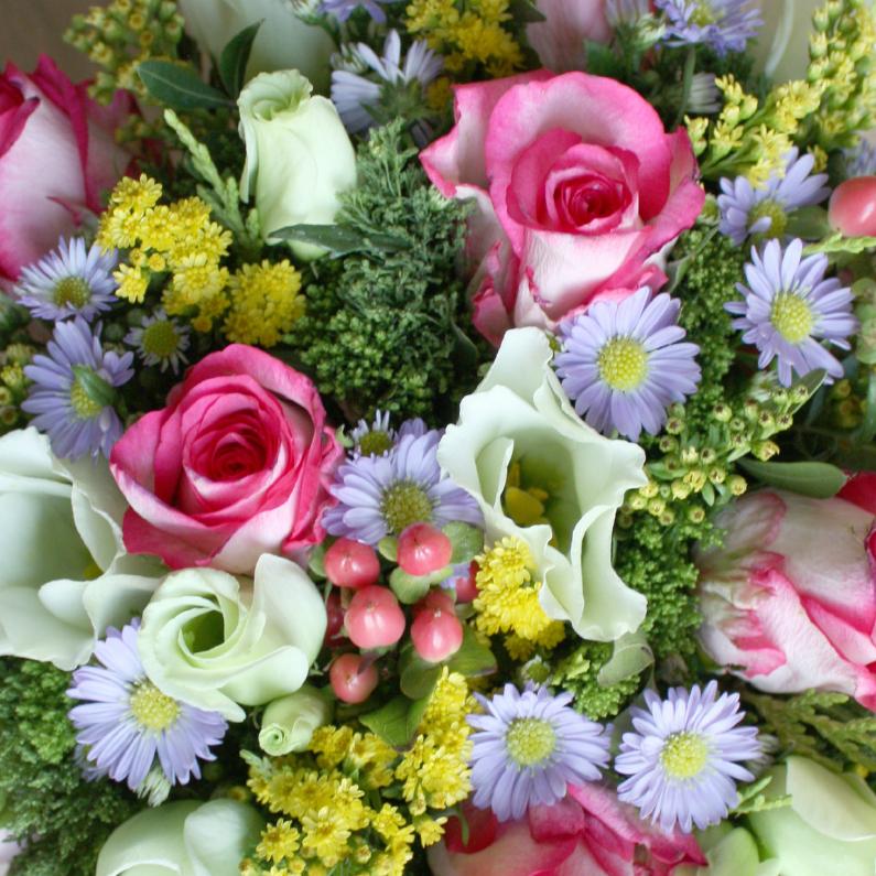 Felicitatiekaarten - Vrolijk boeket bloemen