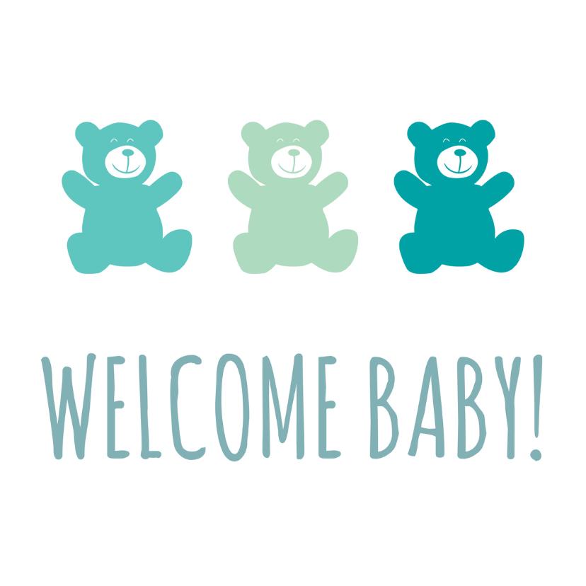 Felicitatiekaarten - Welcome baby!