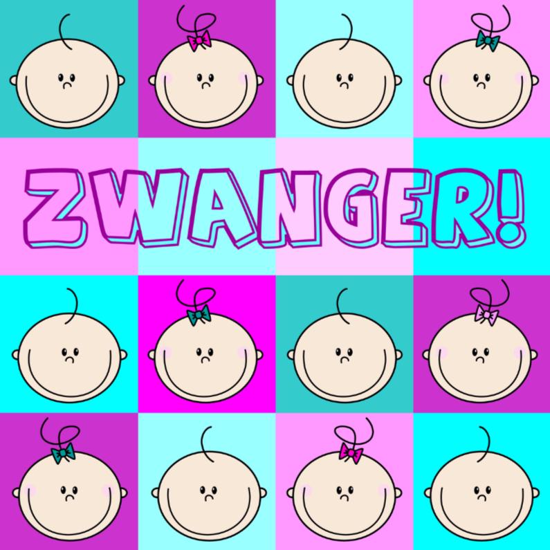 Felicitatiekaarten - Zwanger Blije BEEBIES
