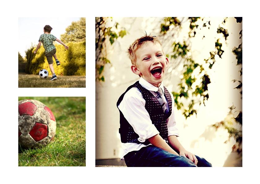 Fotokaarten - Collage 3 foto's