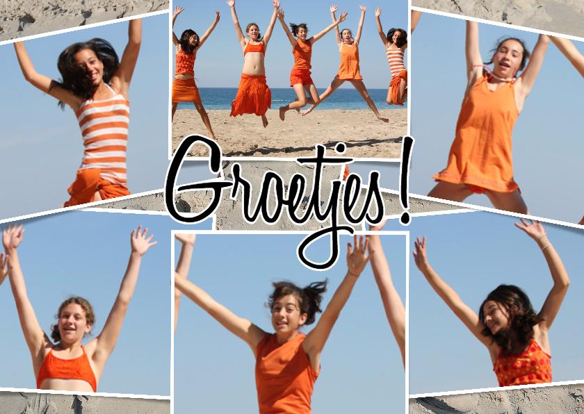 Fotokaarten - Collage Groetjes! - BK