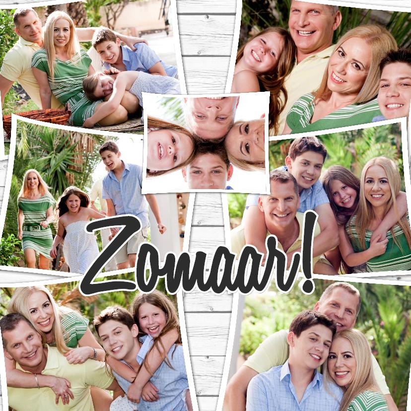 Fotokaarten - Collage Zomaar - BK