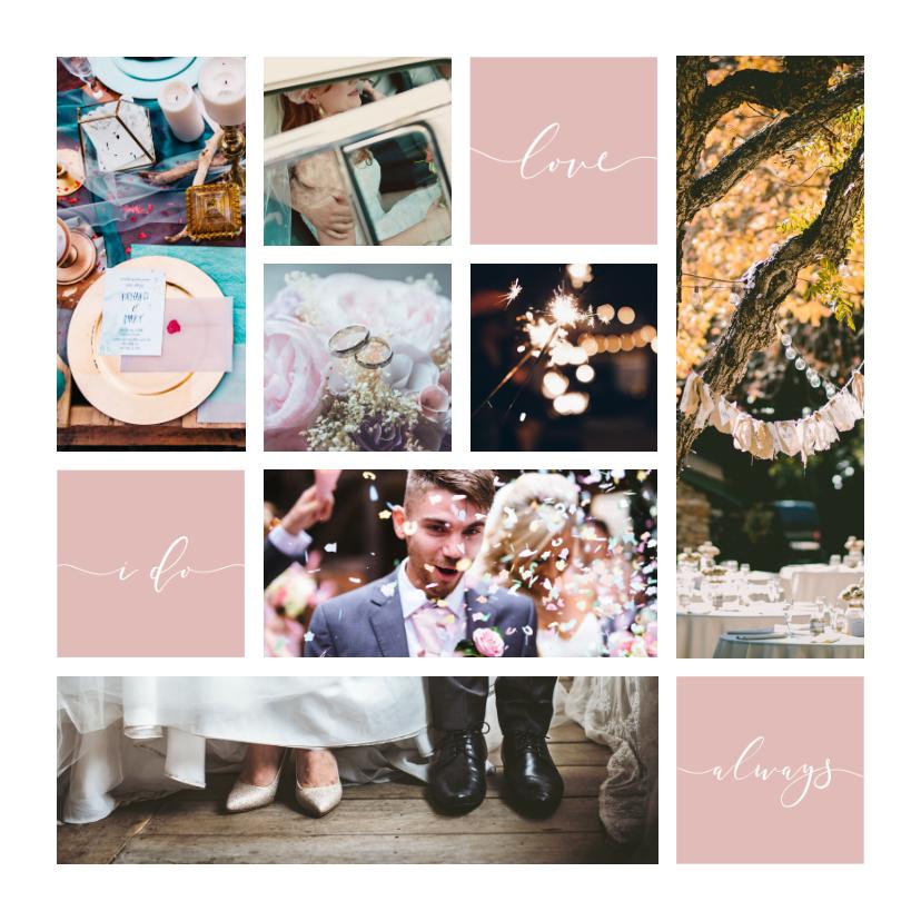 Fotokaarten - Fotokaart fotocollage 'Always'