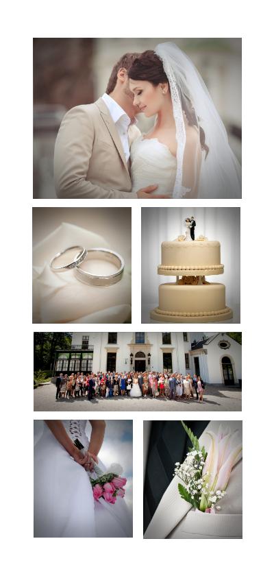 Fotokaarten - fotokaarten collage 6 foto's