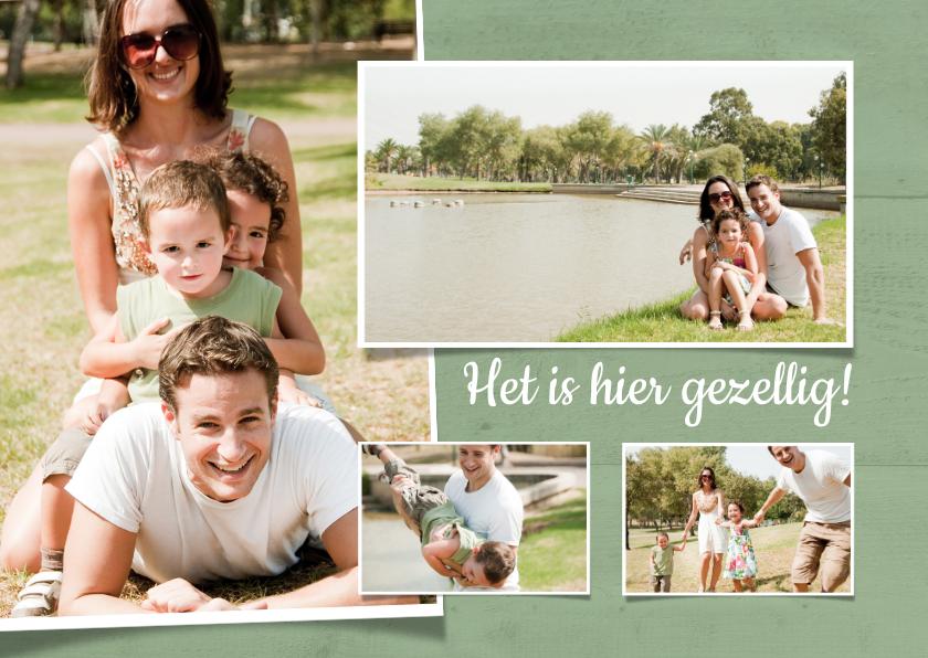 Fotokaarten - Het is hier gezellig - BK