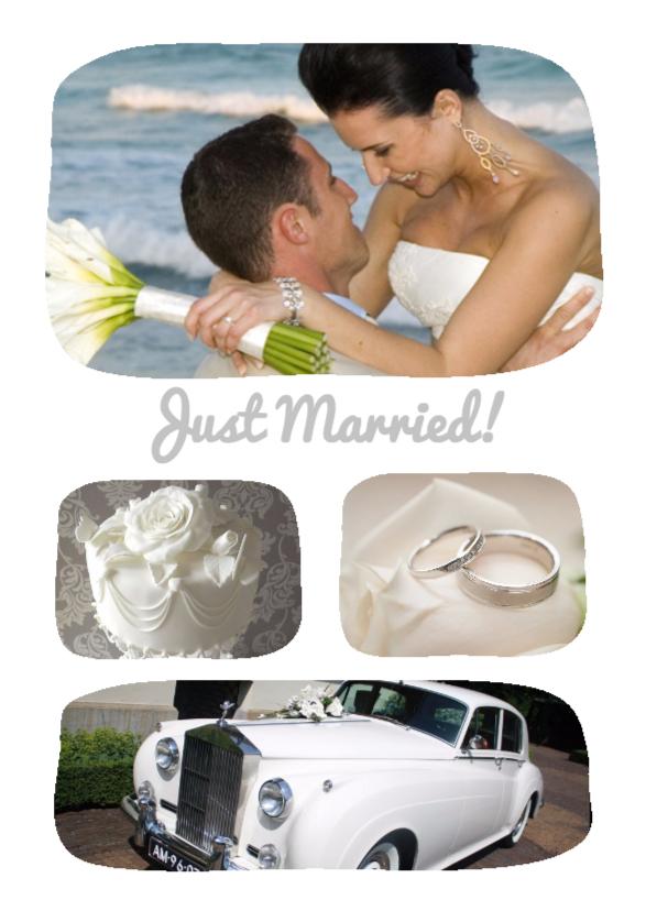 Fotokaarten - Just Married! - BK