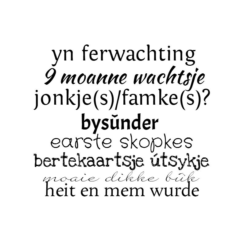 Fryske kaartsjes - Gewoon te gek / Yn ferwachting