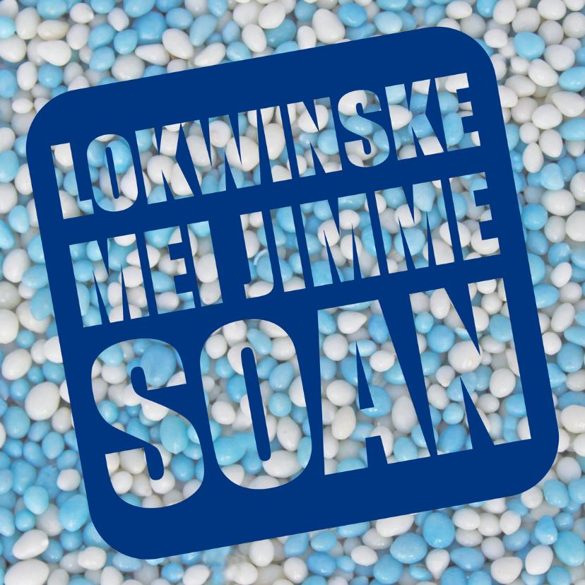 Fryske kaartsjes - Lokwinske mei jimme soan