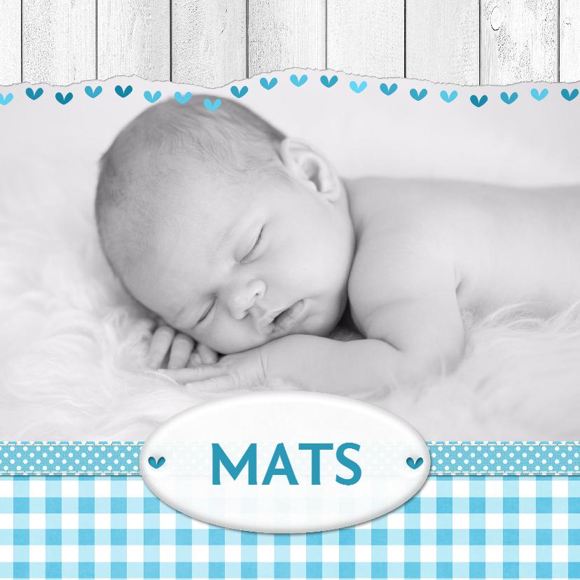 Geboortekaartjes - 14209 Geboortekaartje Eigen foto