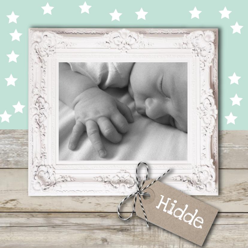 Geboortekaartjes - Geboortekaart sterretjes