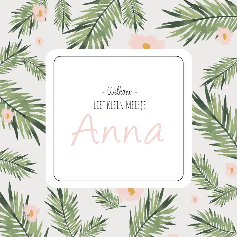 Geboortekaartjes - Geboortekaartje Anna - HM