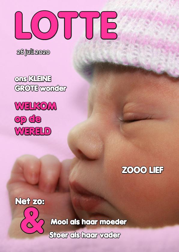 Geboortekaartjes - Geboortekaartje cover - OTTI