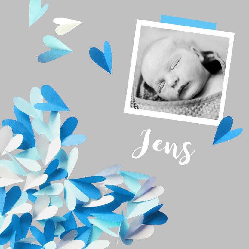 Geboortekaartjes - Geboortekaartje  hart