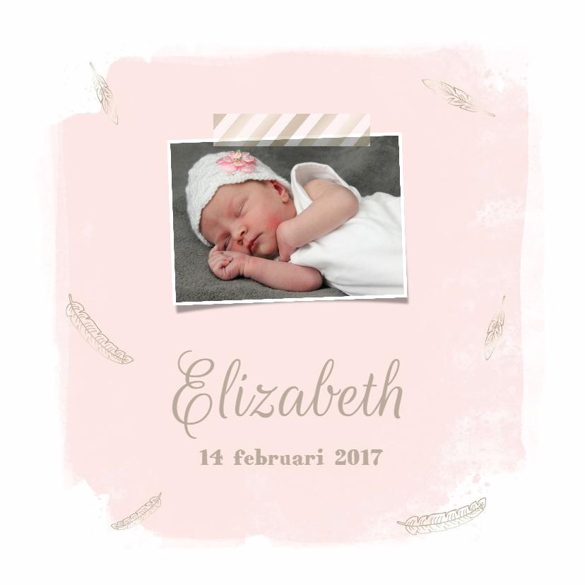 Geboortekaartjes - Geboortekaartje Meisje 5 - WW