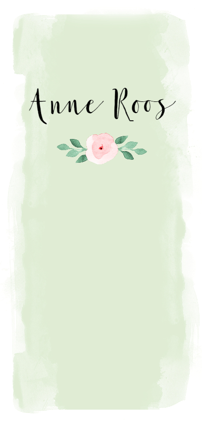 Geboortekaartjes - Geboortekaartje pastel