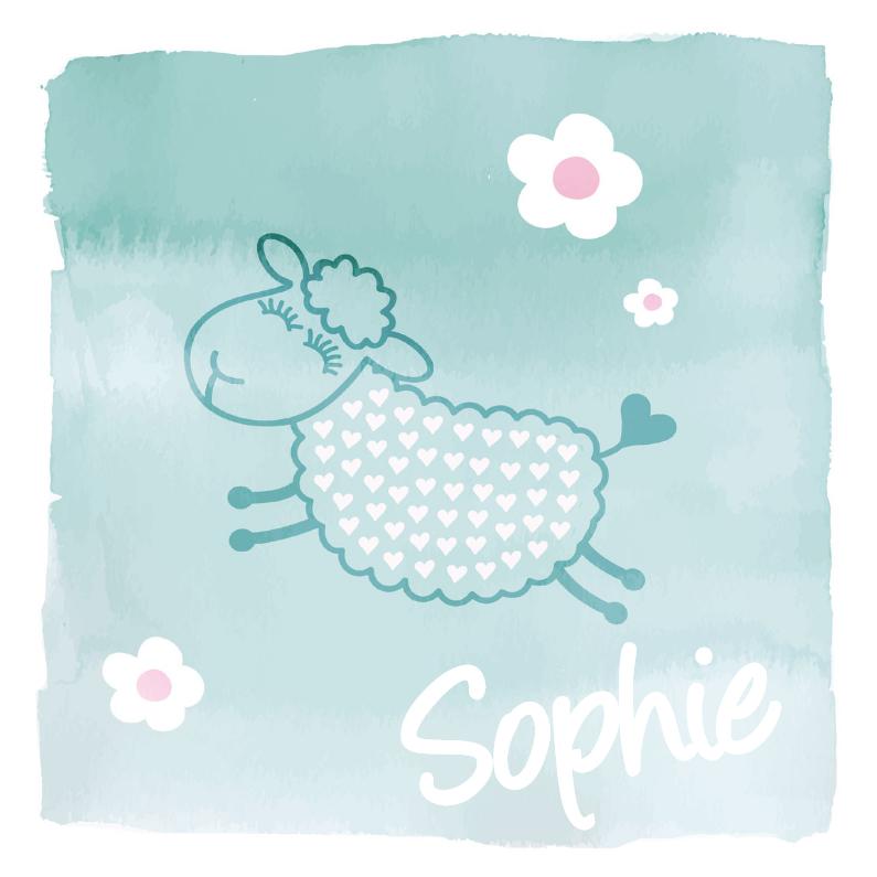 Geboortekaartjes - Geboortekaartje Sophie Schaap