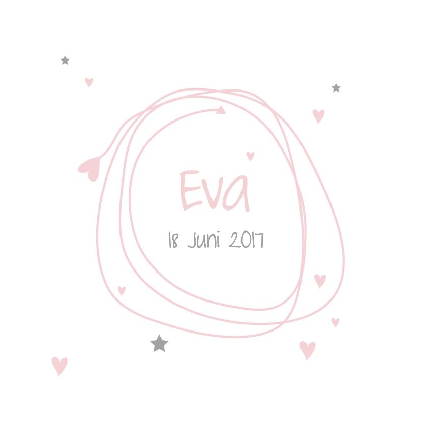 Geboortekaartjes - Hip mooi geboortekaartje
