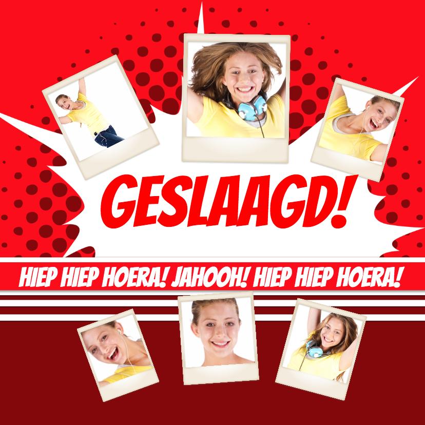 Geslaagd kaarten - Collage Geslaagd! - BK