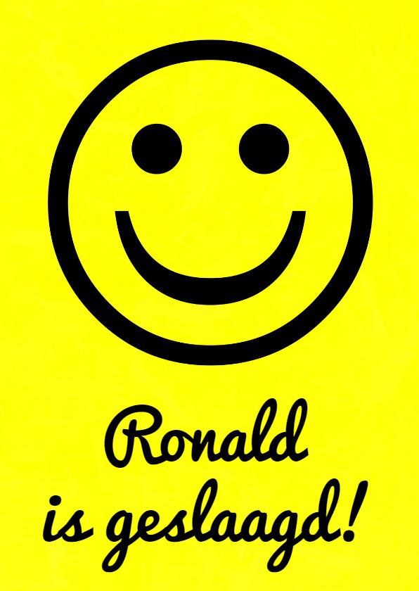 Geslaagd kaarten - Geslaagd Big Smile IW