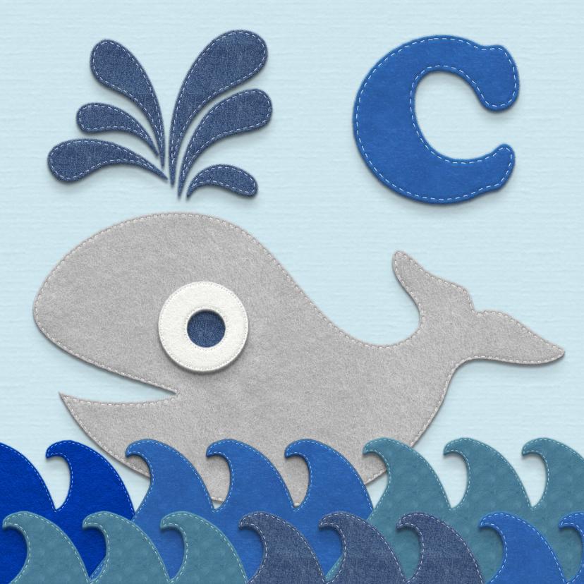 Geslaagd kaarten - Zwemdiploma walvis C