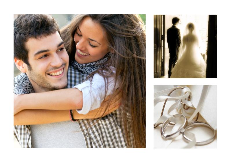 Jubileumkaarten - Collage Jubileum Huwelijk - BK