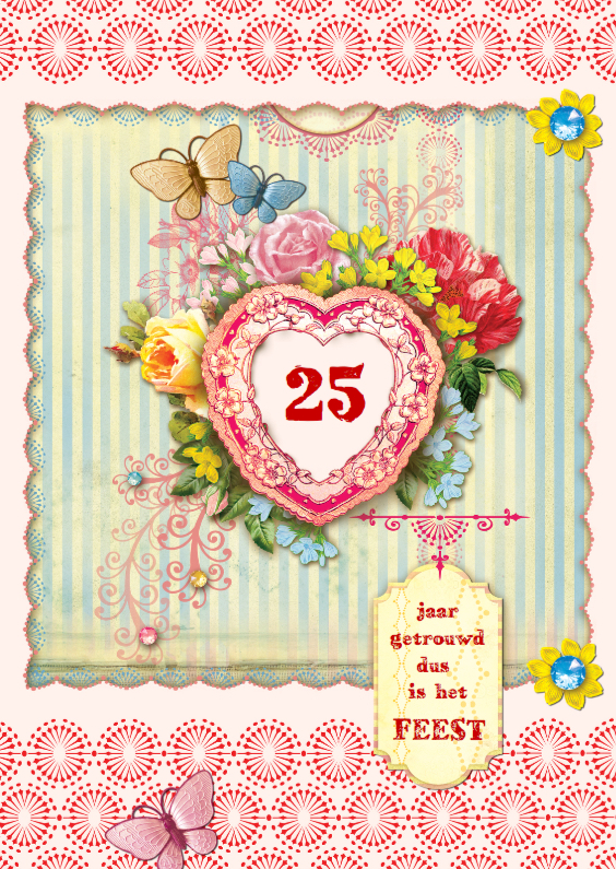 Jubileumkaarten - Huwelijksjubileum scrapbook 2