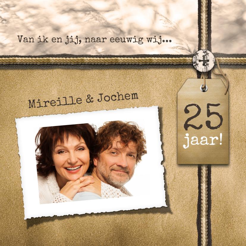 Jubileumkaarten - Jubileum 25 jaar classic RB
