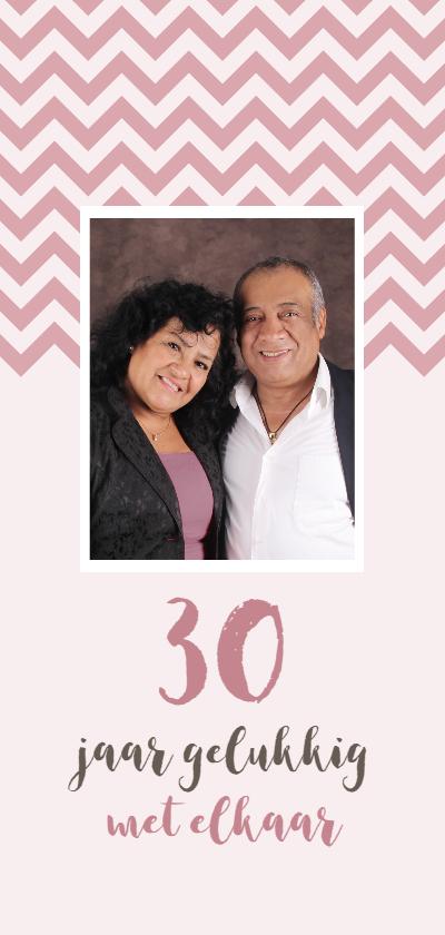 Jubileumkaarten - Jubileum 30 jaar gelukkig met elkaar