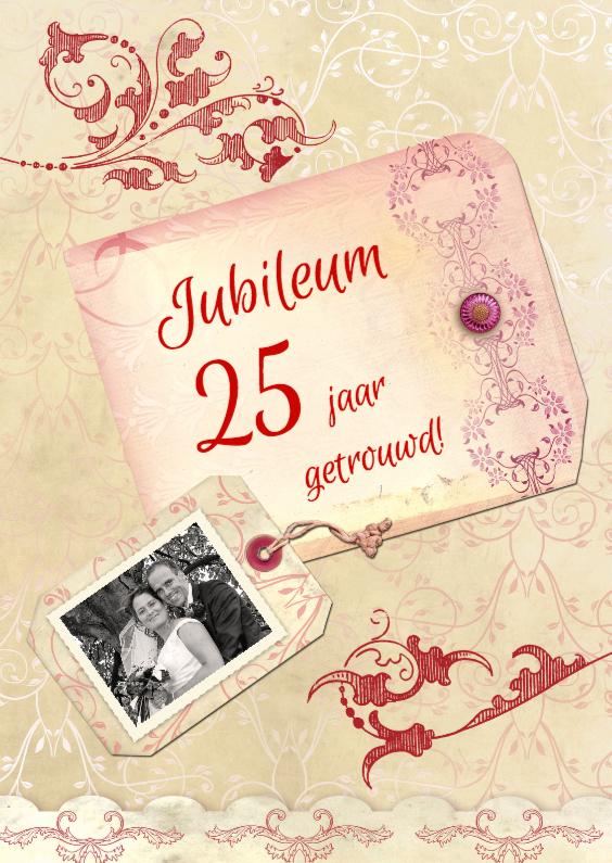 Jubileumkaarten - Jubileum Scrapbook 25