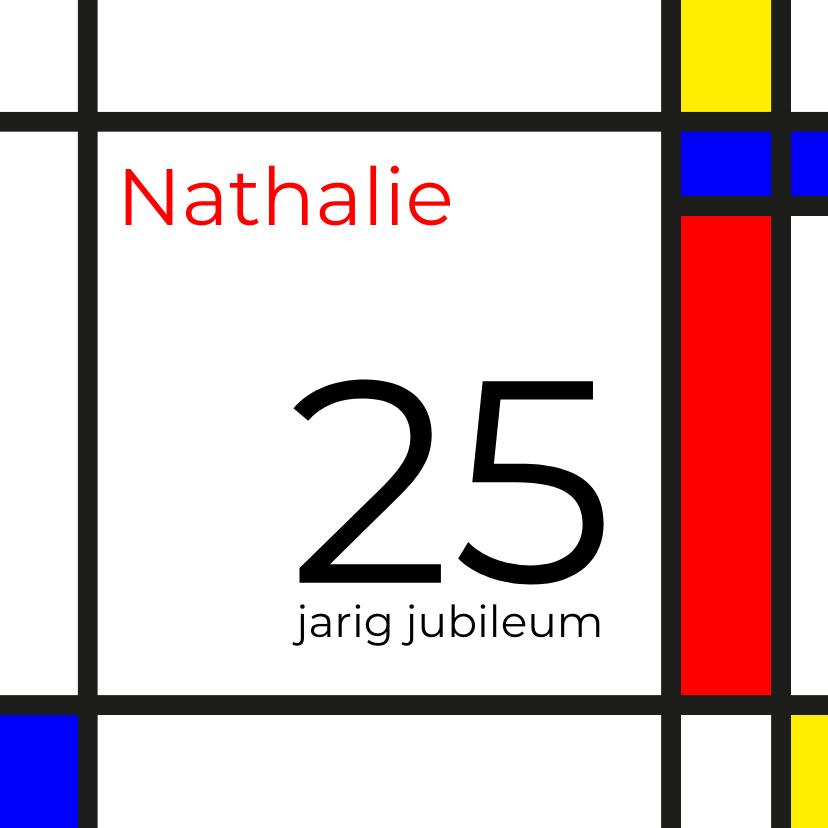 Jubileumkaarten - Mondriaan 25 jaar