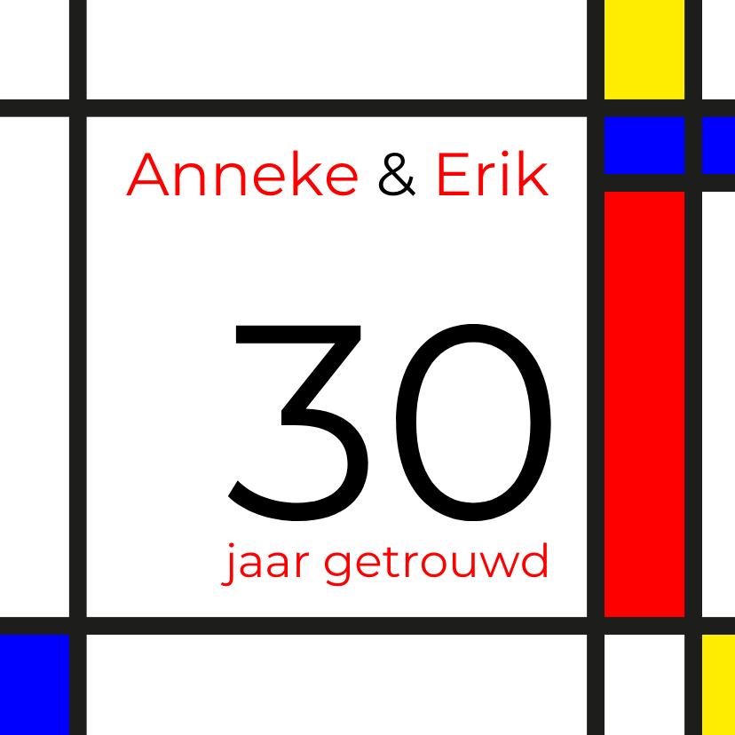 Jubileumkaarten - Mondriaan 30 jaar