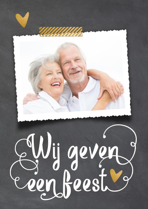 Jubileumkaarten - Uitnodiging 50 jaar huwelijk - LO