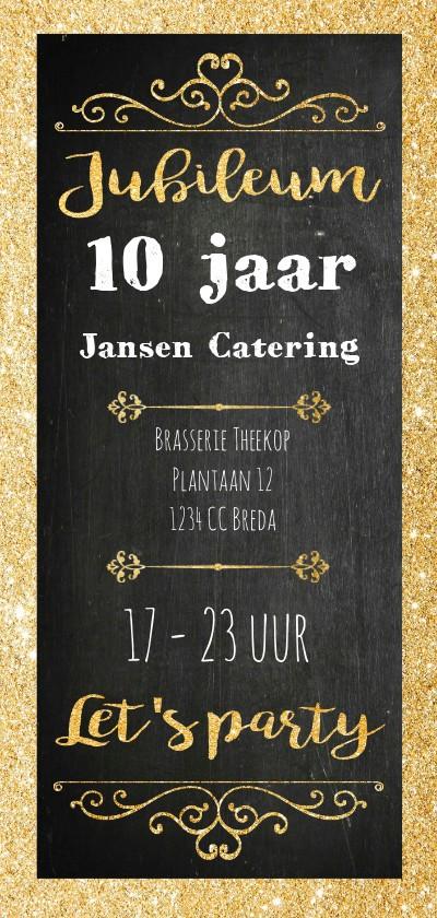 Jubileumkaarten - Uitnodiging bedrijfsfeest