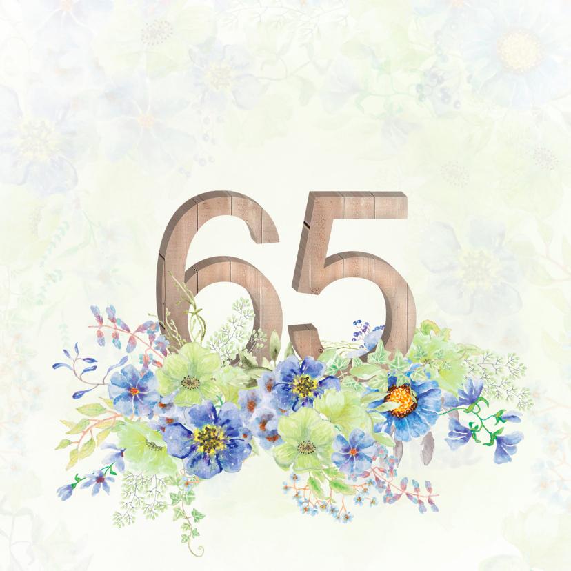 Jubileumkaarten - Uitnodiging briljanten huwelijk