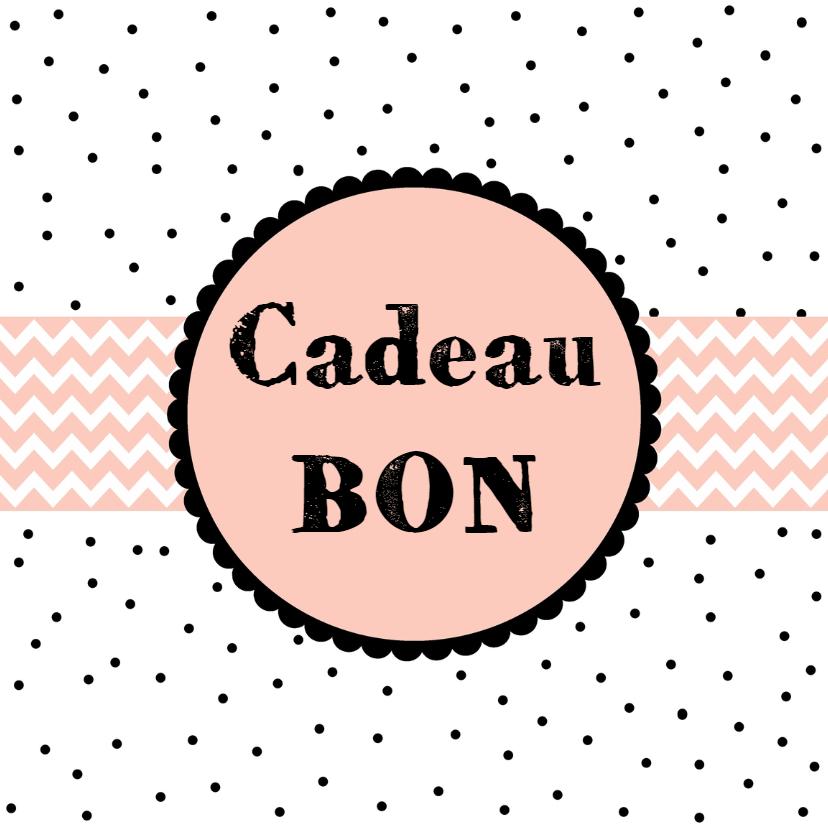 Kaarten mailing - Cadeaubon Roze - WW