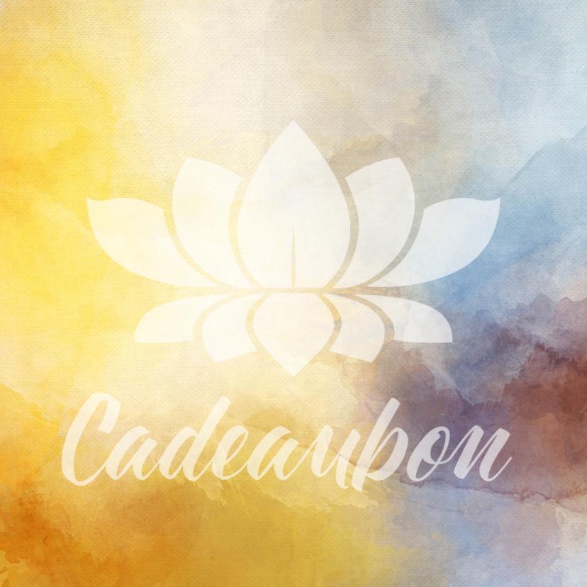 Kaarten mailing - Cadeaubon zakelijk zzp mindfulness wellness