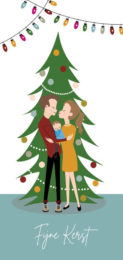 Kerstkaarten - Eerste kerst met jullie kleine mannetje