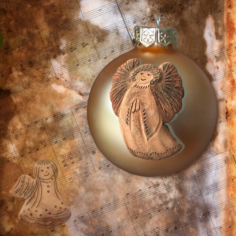 Kerstkaarten - engelenbal