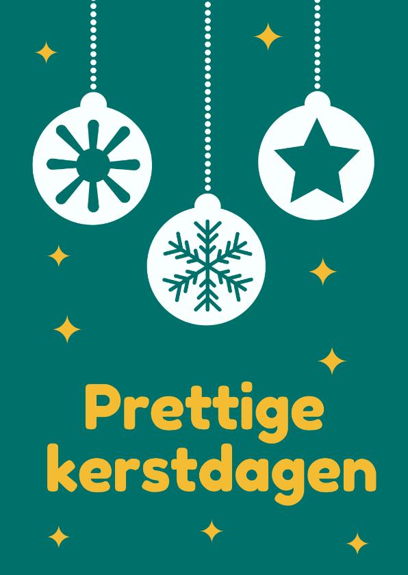 Kerstkaarten - Jeugdfonds Sport & Cultuur kerstkaart kerstbal