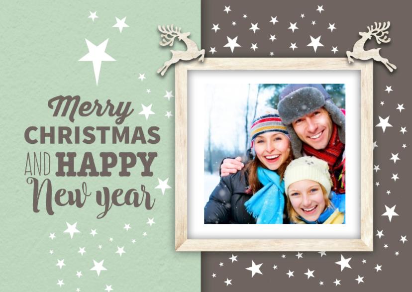 Kerstkaarten - Kerst ansichtkaart-isf