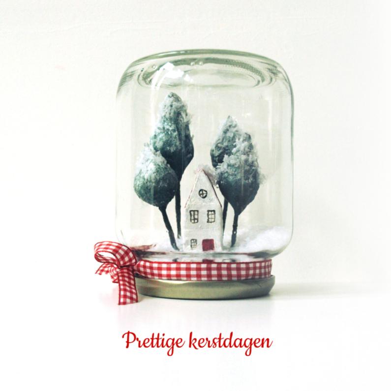 Kerstkaarten - Kerst instant Winter Wonderland