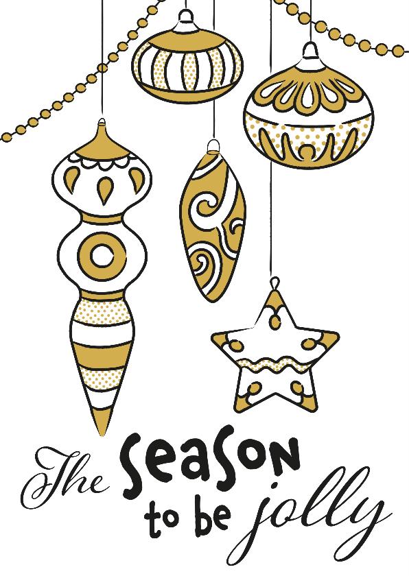 Kerstkaarten - Kerst - Jolly Season EM