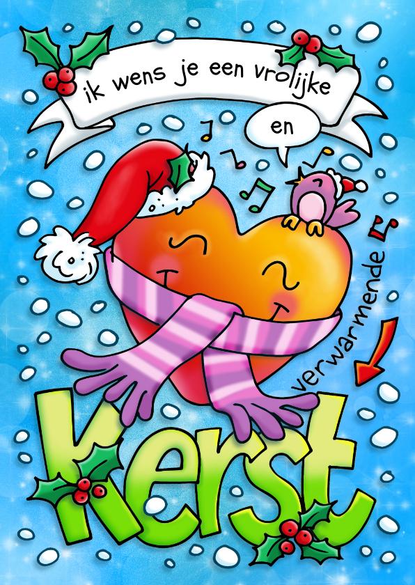 Kerstkaarten - Kerst vrolijk en hartverwarmend