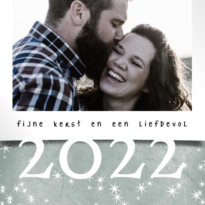 Kerstkaarten - Kerstkaart 2021-2022, met grote foto