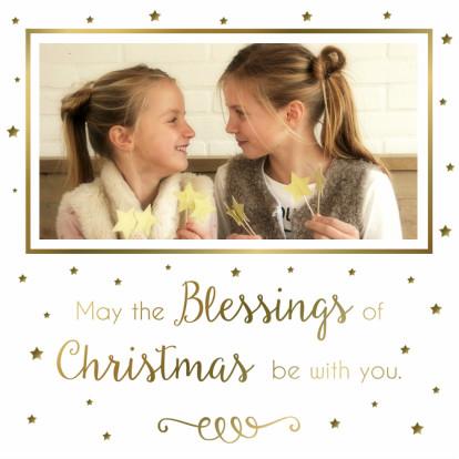 Kerstkaarten - Kerstkaart Blessings - WW