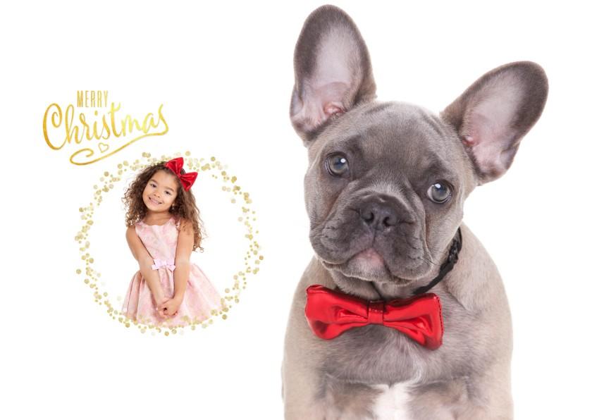 Kerstkaarten - Kerstkaart - Bulldog