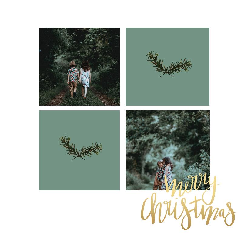 Kerstkaarten - Kerstkaart foto collage