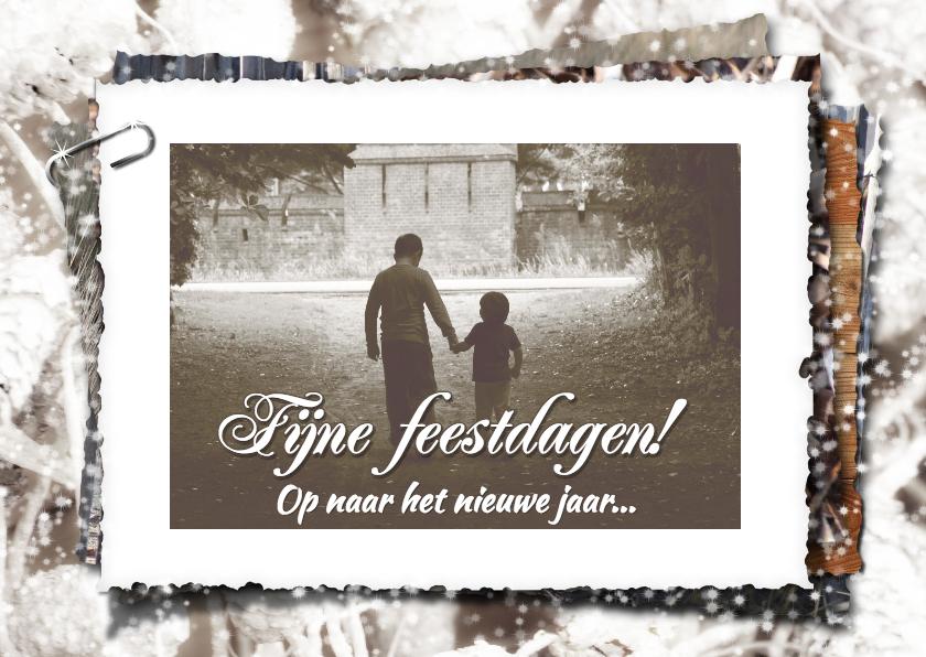Kerstkaarten - Kerstkaart fotostapel kinderen